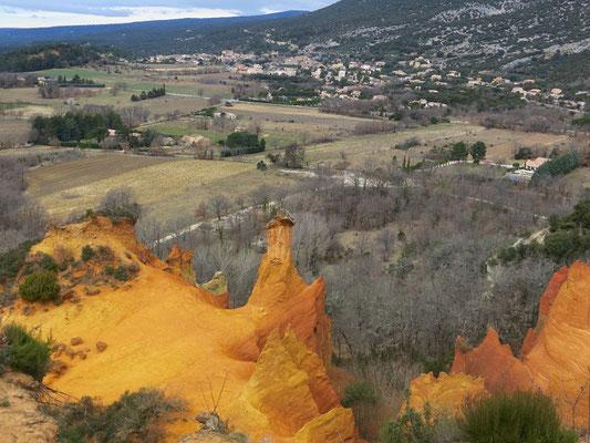 Colorado der Provence