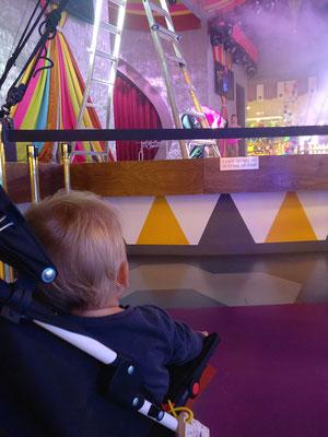 Showeinlage im Circus Circus