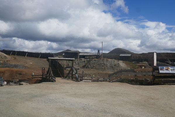 ehemalige Kupfermine in Roros