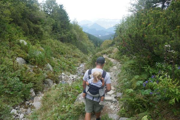 Gratwanderung auf dem Mt. Chopok