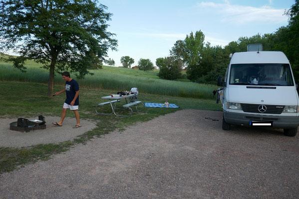 Wieder ein schöner Campingplatz...