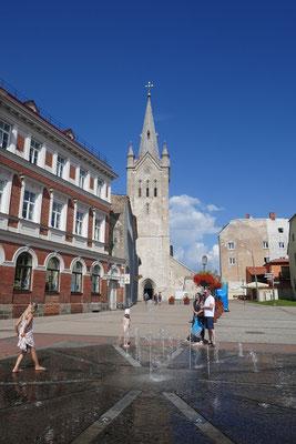Cesis - Rosenplatz