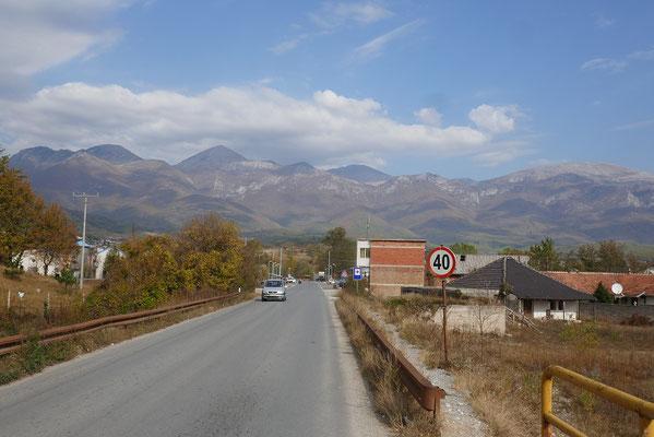 im Süd-Westen Kosovos