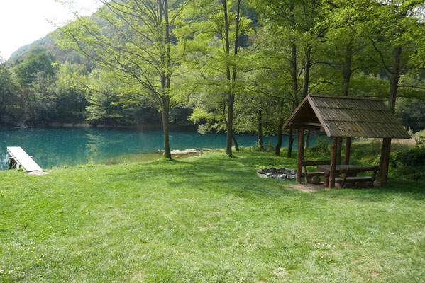 Una-Nationalpark - Picknickplatz