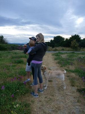 Mit Daniel & Ryanna im Discovery Park