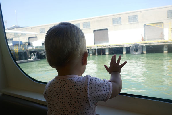 Bootsfahrt nach Alcatraz