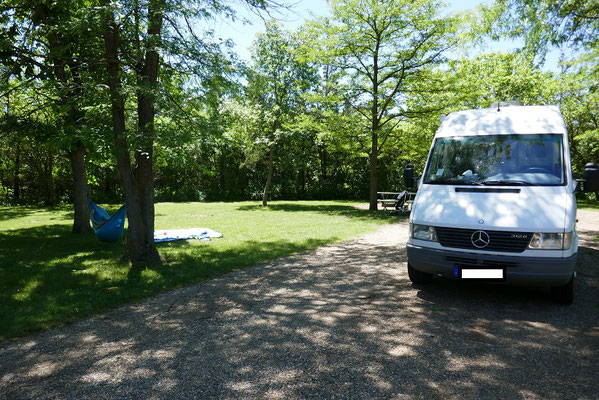 schöne Campingplätze...