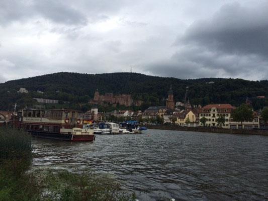 Heidelberger Schloss am Neckar