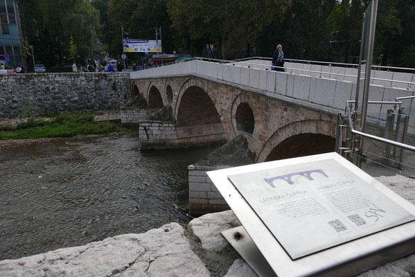 Sarajevo - der Ort an welchem der 1. Weltkrieg ausgelöst wurde