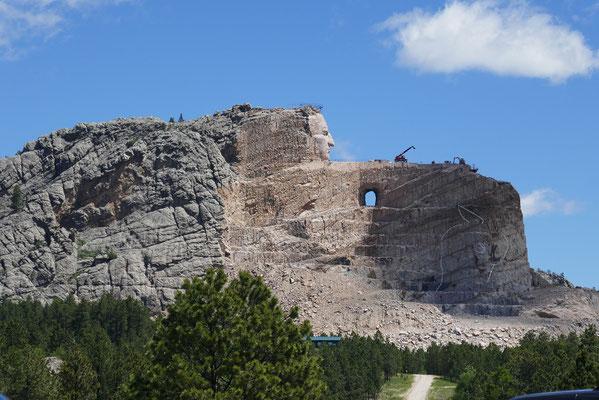 Crazy Horse Memorial - der Ist-Zustand...