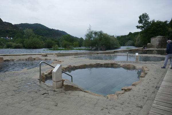 heiße Quellen in Ourense
