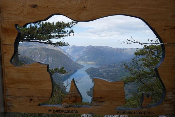 Tara Nationalpark - Aussichtspunkt Banjska Stena