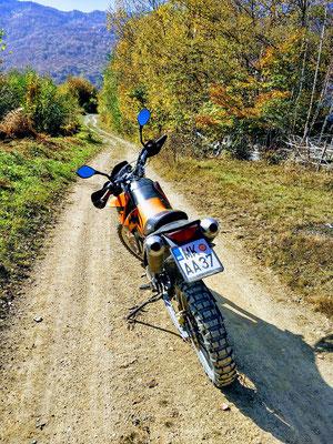 Autocamp Rabrenovic - KTM-Tour ins Hinterland
