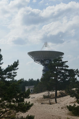 Radioteleskope in Irbene