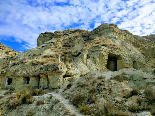 Felsenhöhlen von Arguedas