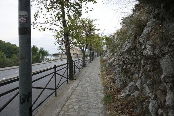 Shkodra - endlich wieder Gehwege