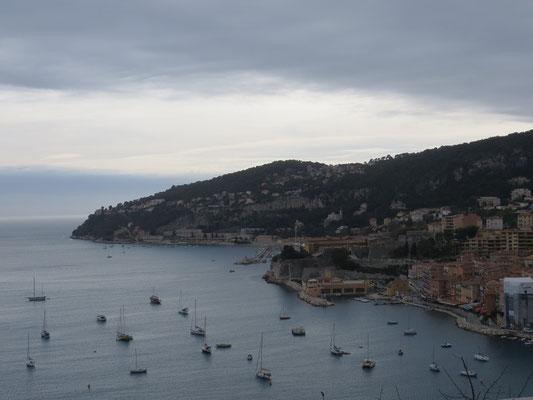 Côte d'Azur bei Villefranche-sur-Mer
