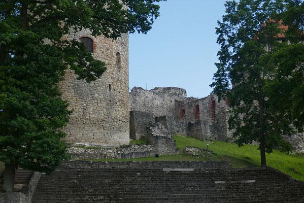 Cesis - Kreuzritterburg
