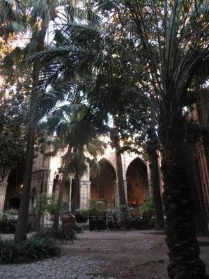 Im Inneren der Kathadrale