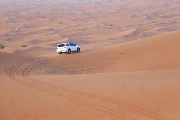 Dünenfahrt durch die Wüste
