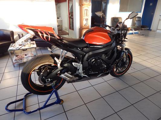 Autohaus Cars & More Sachsenheimer Suzuki GSX R 600 Nacked Bike Motorrad