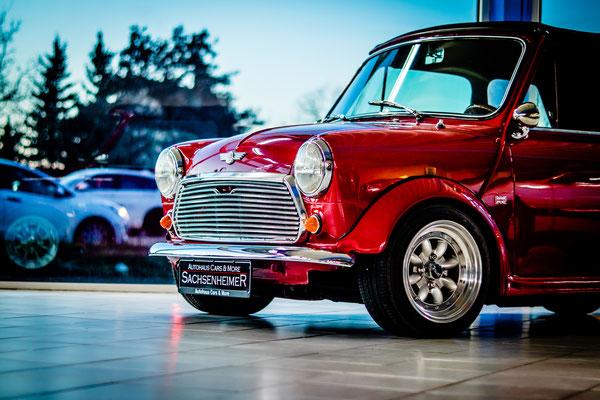 Autohaus Cars & More Sachsenheimer Mini 1000 MK2 Cabrio Oldtimer Gebrauchtwagen