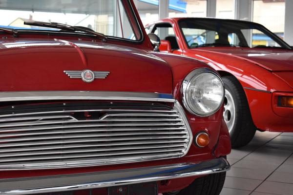 Autohaus Cars & More Sachsenheimer Mini 1000 MK2 Cabrio Oldtimer