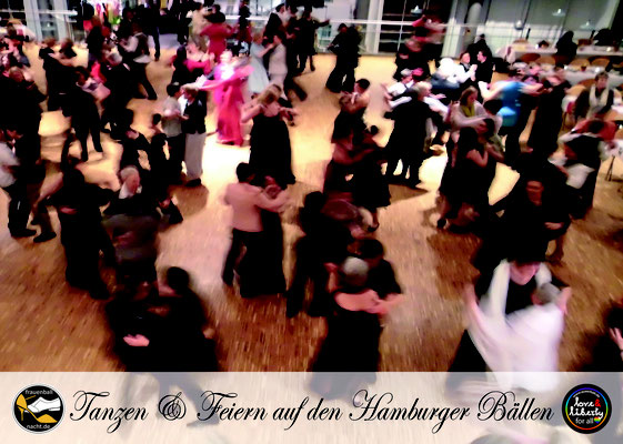 Auf Hamburgs Bällen tanzen