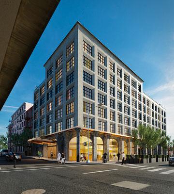 Edificio en Bronx, New York