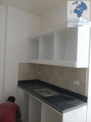 Kitchen installation at Tiba Resort, Hurghada