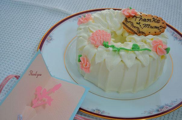 〜母の日に〜アールグレーティーのシフォンケーキ
