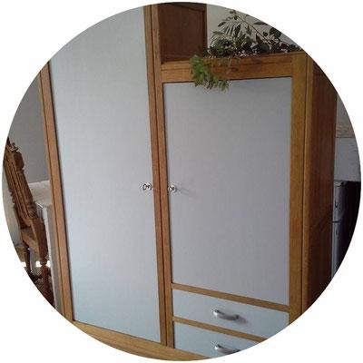 armoire vintage, armoire ancienne, armoire parisienne