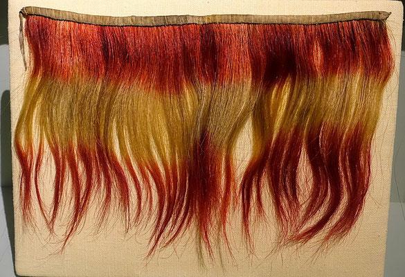 Choctaw Umlegekragen aus Pferdeschweif-Haaren