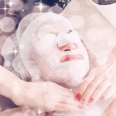 Lifting Maske - die Haut ist sofort nach der Behandlung