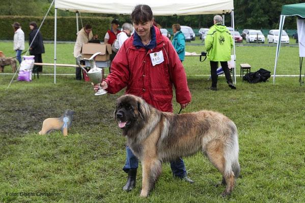 ....und schönster Hund der Regio Ost