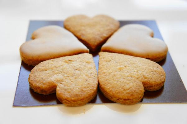 スパイスクッキー(レモンアイシング)