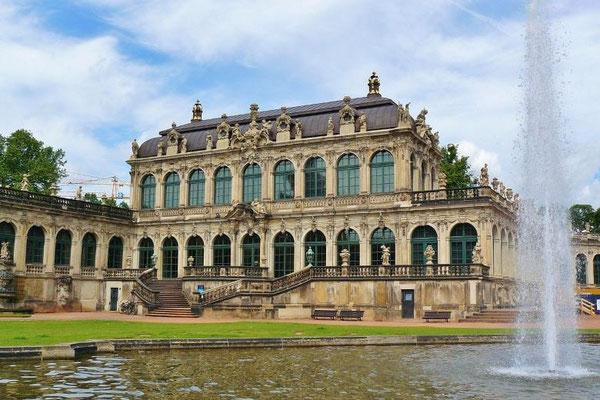 Städtereise Dresden - Zwinger