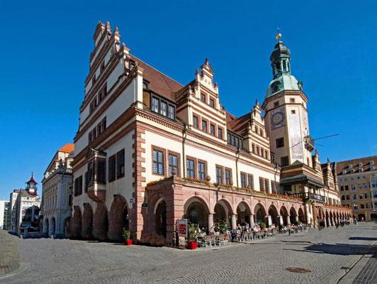 Leipzig Sehenswürdigkeiten Altes Rathaus