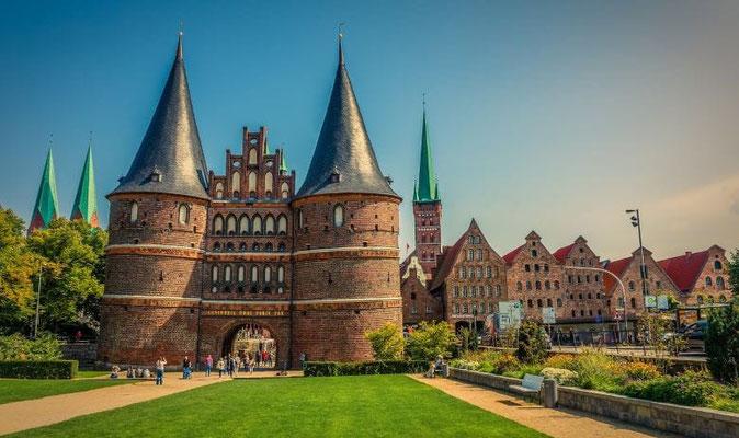 Lübeck Sehenswürdigkeiten Holstentor