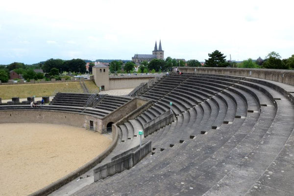 Römische Arena im Archäologischen Park Xanten