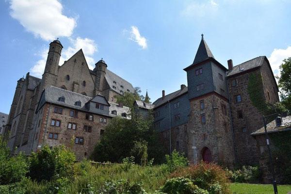 Städtereise Marburg Schloss Burg