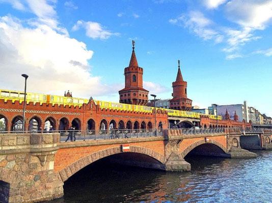Städtereisen Deutschland Berlin Oberbaumbrücke