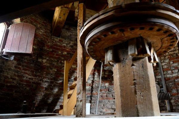 Kriemhild Mühle Xanten - Mühlenrad