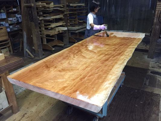 ボセ 一枚板 テーブル 天板