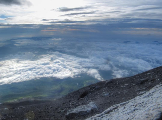 If you are adventurous, you can climb Fujisan and see the sun rise, from the top!