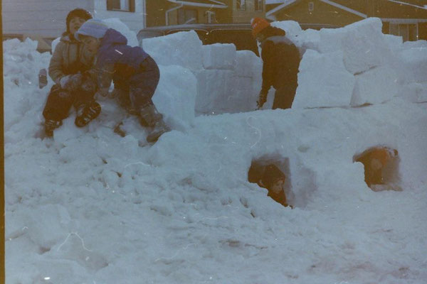 It might look cold to you, but imagine the fun a child can have in the snow!