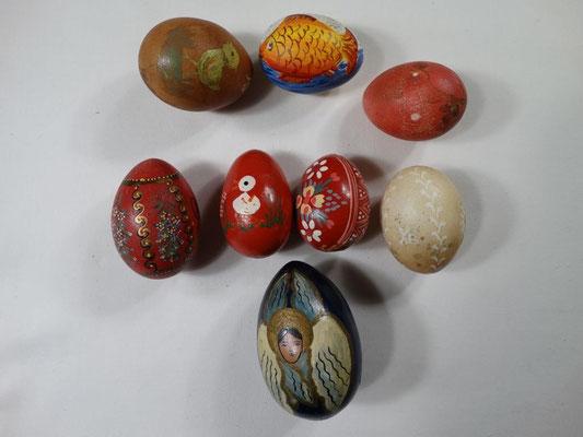 Пасхальные яйца. Самодельные подарки 60-х годов.
