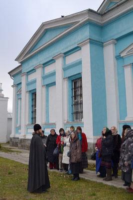 Рассказ об истории Бобренева монастыря возле Феодоровского храма.