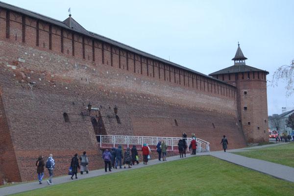 Круглая (Маринкина) башня Коломенского Кремля