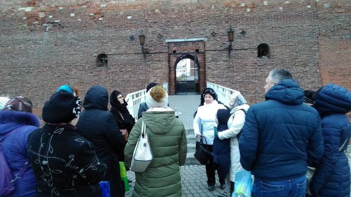 Стены Коломенского кремля